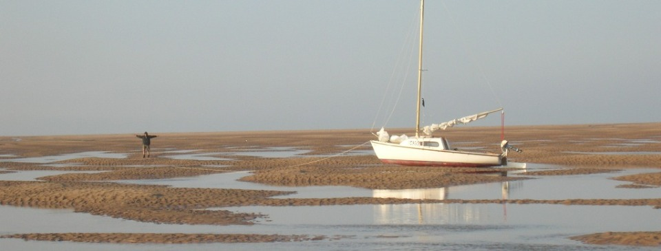 Low water Duddon Estuary